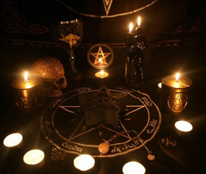 black magic-spell caster